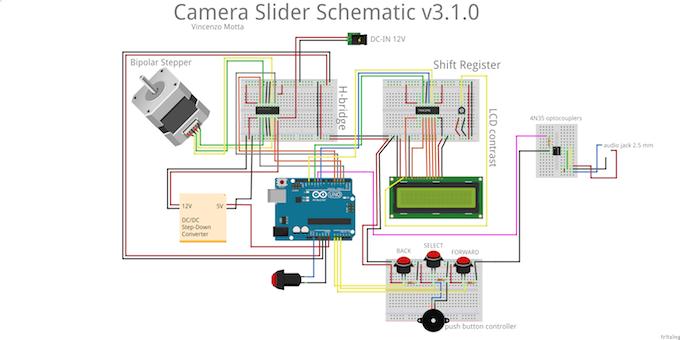 Arduino camera come progettare una slider con