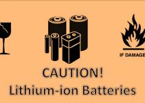 Immagine realizzata per l'articolo prendendo spunto dai tipici cartelli di cautela adoperati per le batterie