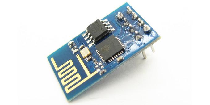 Il modulo ESP8266 in configurazione ESP-01