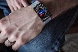 Orologio da polso binario