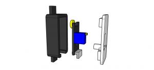 Supporto sensore stampa 3d