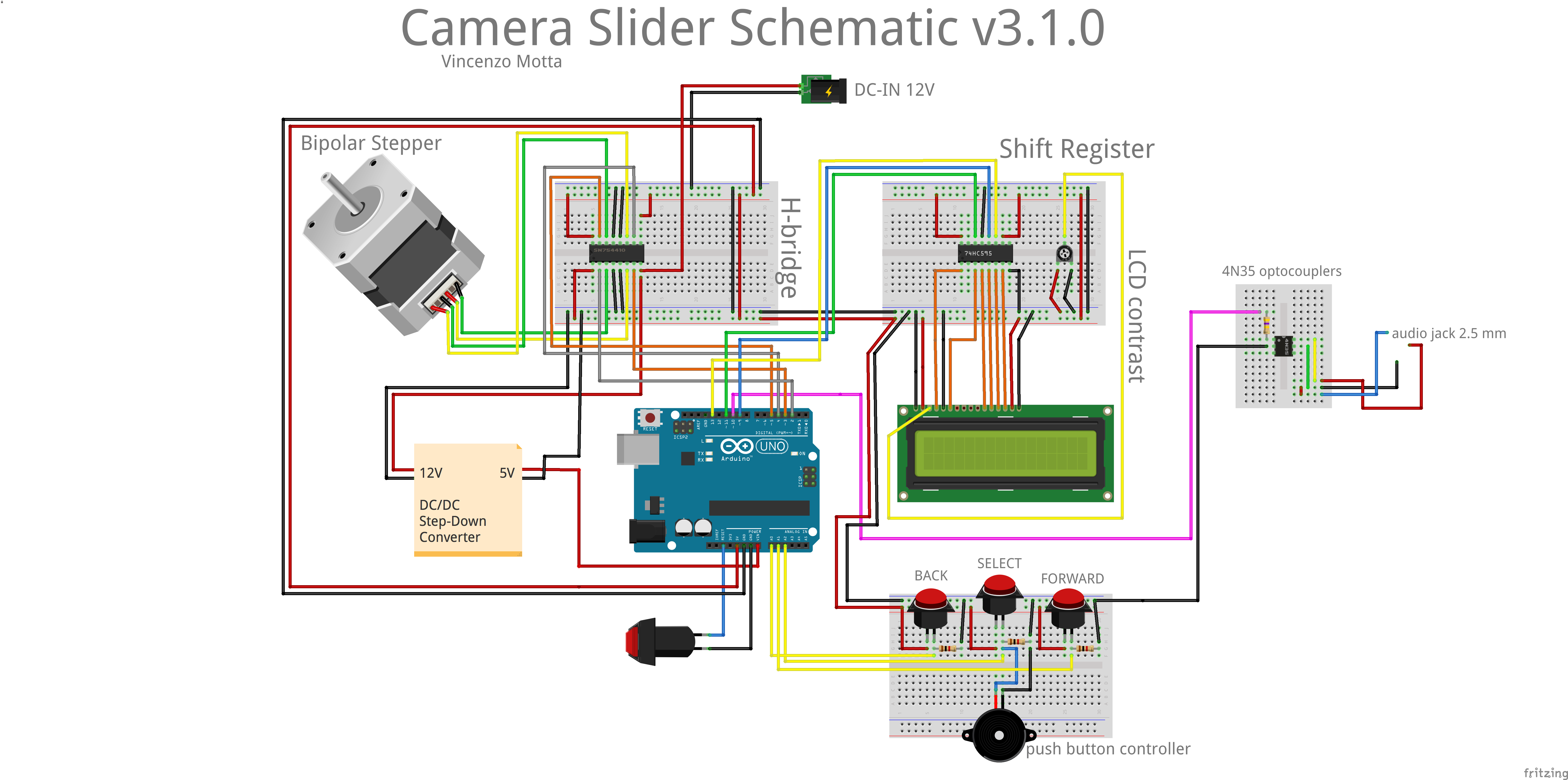 Arduino Camera Come Progettare Una Camera Slider Con