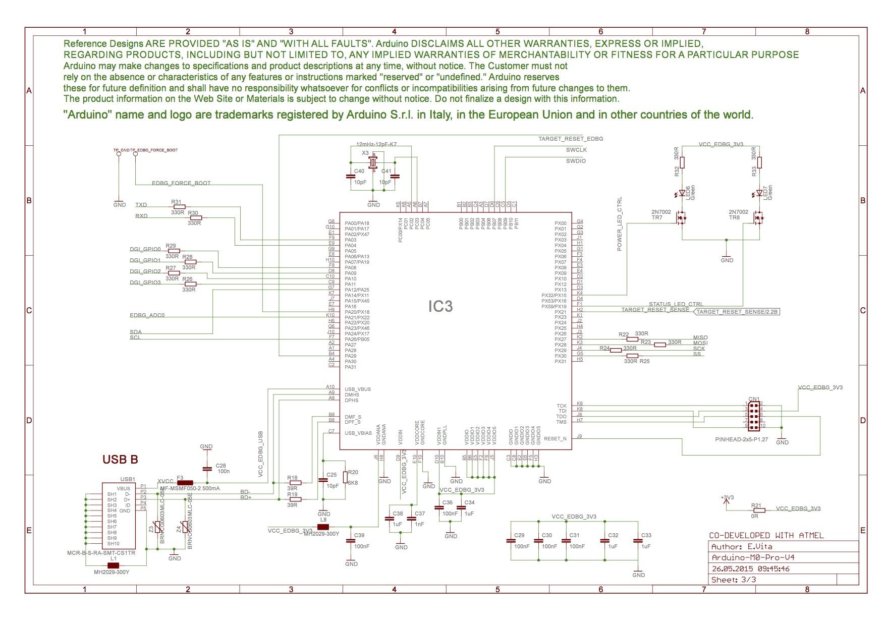 Schema Elettrico Usb 3 0 : Arduino m pro presentazione e specifiche tecniche