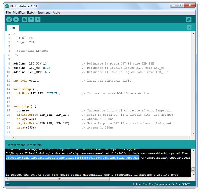 Arduino m pro debug con gdb e openocd elettronica open