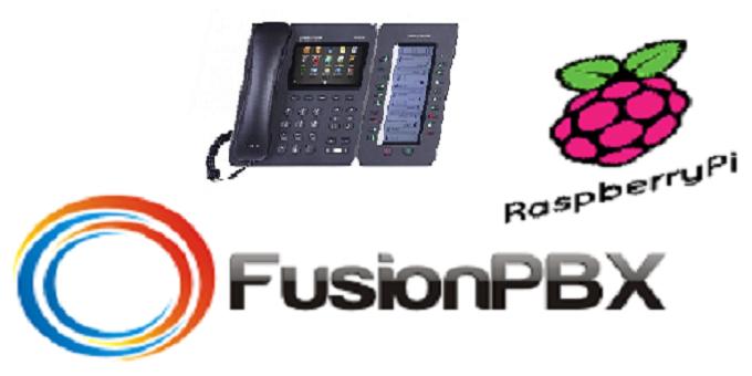 FusionPBX_Raspberry