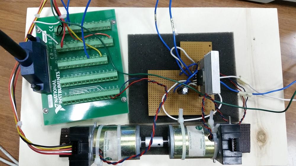 Schemi Elettrici Open Source : Automatizzazione del processo di taratura un motore a