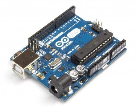 Sistema di controllo: Arduino UNO.