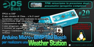 EOS-Book #20 con Weather Station, TPM, FPGA, LINUX, Arduino e molto altro!