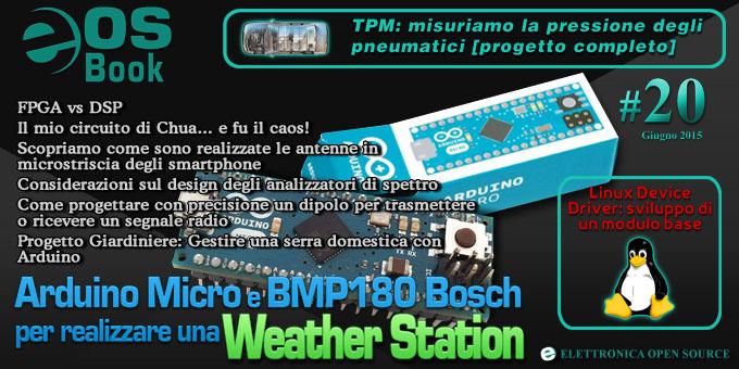 EOS-Book #20 con Weather Station, TPM, FPGA, LINUX, Arduino e molto