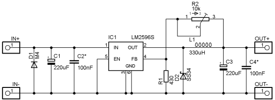 LM2596_DC-DC_Step_Down-Circuit