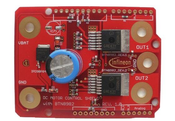 Figura 2: Motor Shield di Infineon.