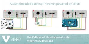 Come programmare un theremin in Python su Arduino grazie a VIPER
