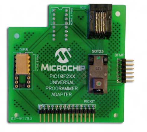 Figura 8. PIC10F2XX Universal Programmer Adapter