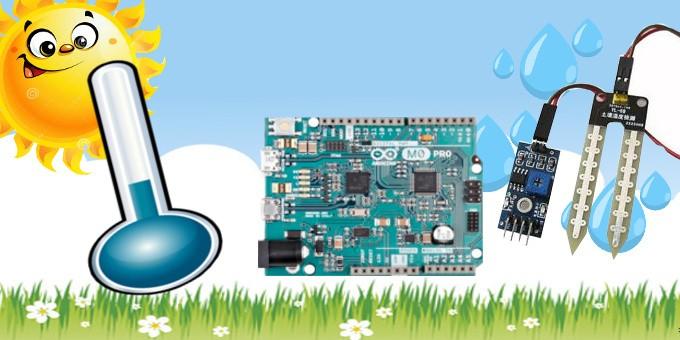 Termometro e Igrometro con Arduino M0 Pro