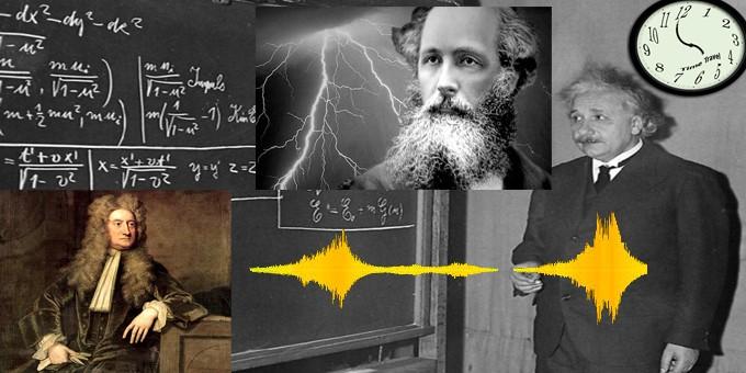 Einstein Maxwell Newton