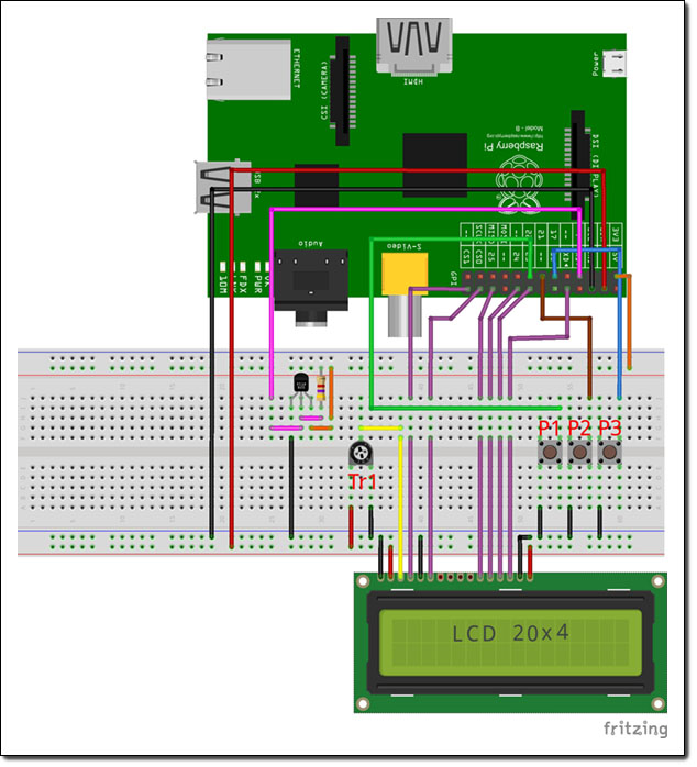 Schema Elettrico Traduzione : Raspberry pi mp player ed internet radio elettronica