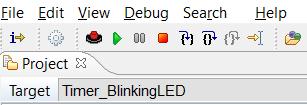 Figura 2 - Comandi della modalità di Debug