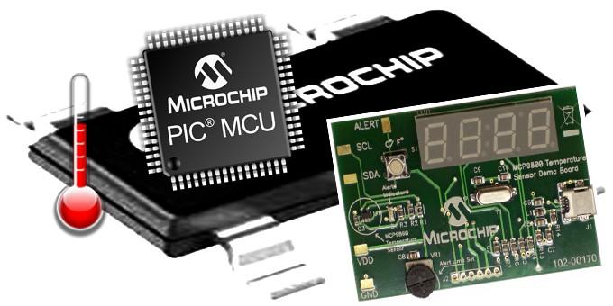 Microcontrollore temperatura