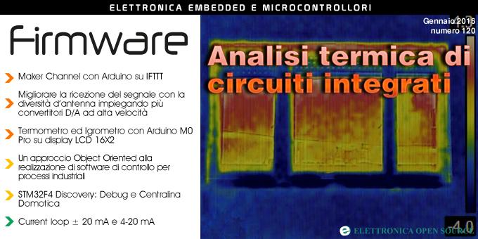 Firmware n  120 con analisi termica di circuiti integrati, STM32