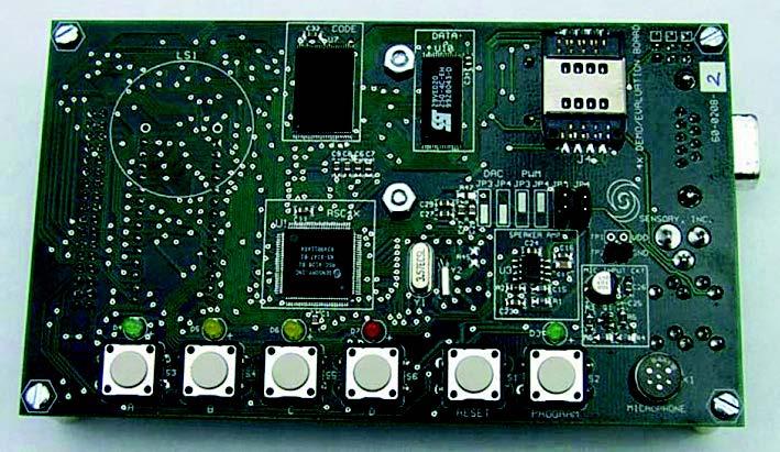 Figura 7. Demo-board fornita nel Toolkit di valutazione
