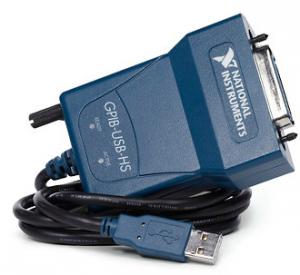 Fig. 2 - Connessione GPIB-USB della National Instrument