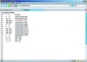 Figura 7. Risultato ottenuto caricando la pagina web LAB4_dynamic_html_demo