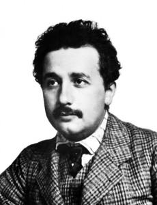 Foto di Einstein nel 1904, scattata dal suo amico Lucien Chavan