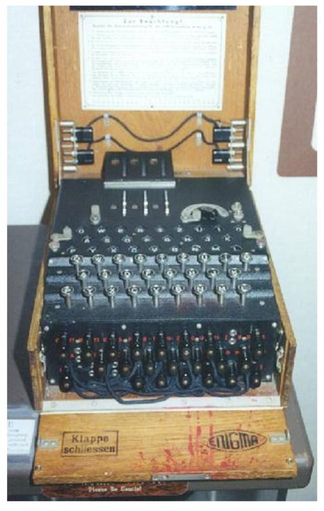 Figura 2: La macchina Enigma