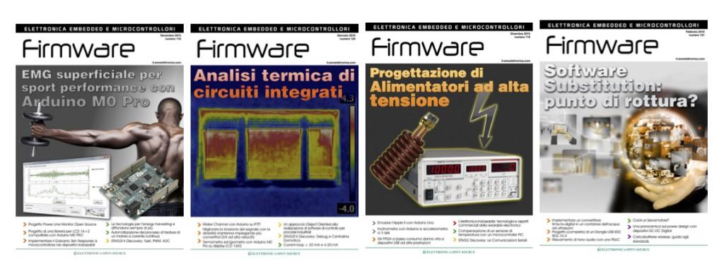 Prova riviste Firmware