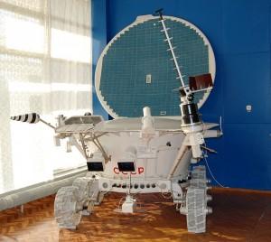 Figura 1: Foto di un modello del Lunokhod 2
