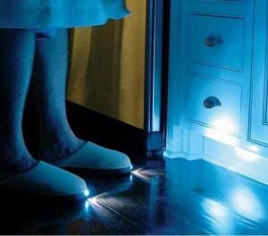 pantofole luce