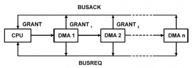 Figura 5. Daisy Chain