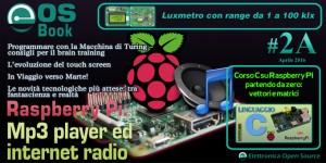 EOS-Book #2A con Raspberry Pi, Touch Screen, Macchina di Turing, corso su C e molto altro!