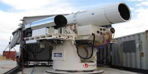 Cannone laser: la tecnologia al servizio della marina USA