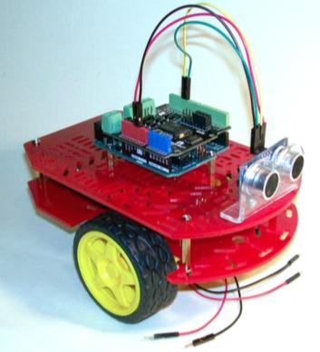 Figura 6: Il Robot con tutti gli accessori montati