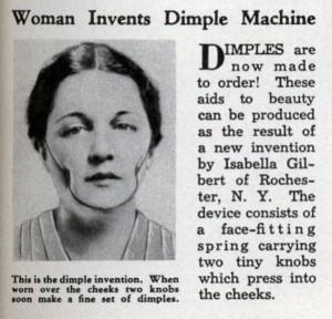 donna fossette invenzioni bizzarre