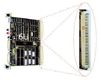 Figura 2. Le schede elettroniche VME (6U)