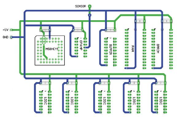 Figura 7. Un circuito stampato ottimizzato