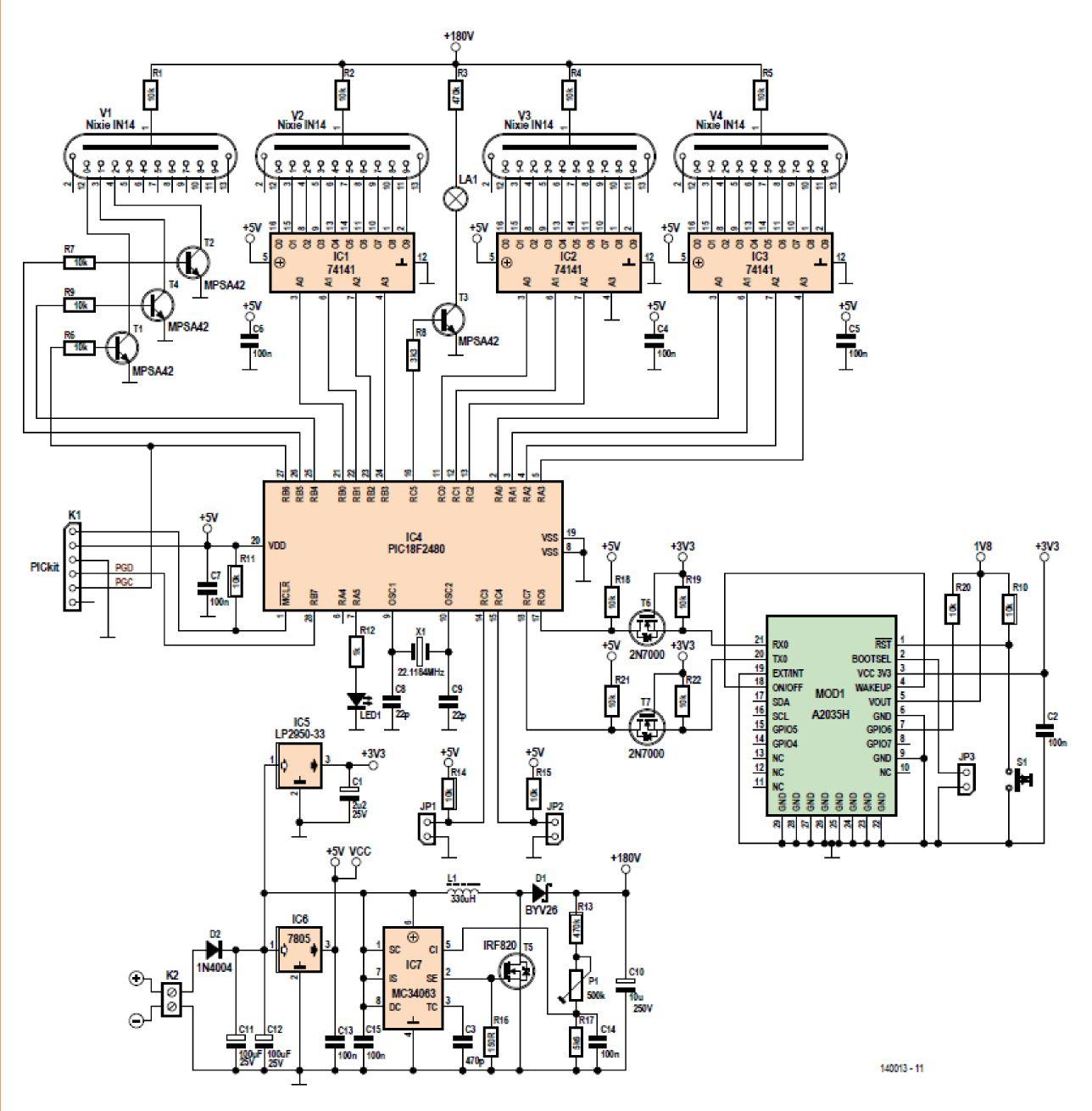 Figura 1: Schema elettrico
