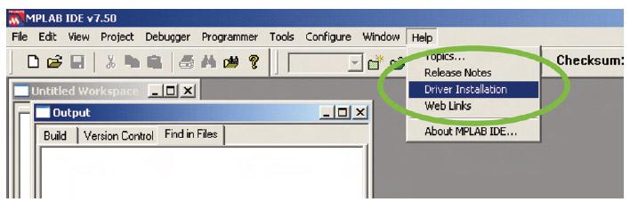 Figura 5. Prima di utilizzare ICD 2 (o qualunque altro tool) è necessario installare i relativi driver