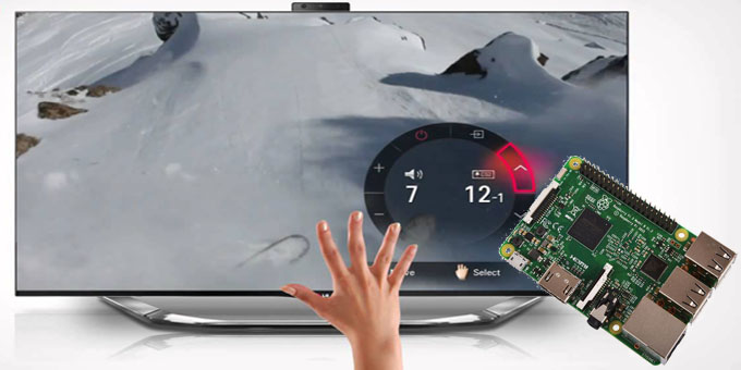 Gesture control for your TV - Raspberry Pi