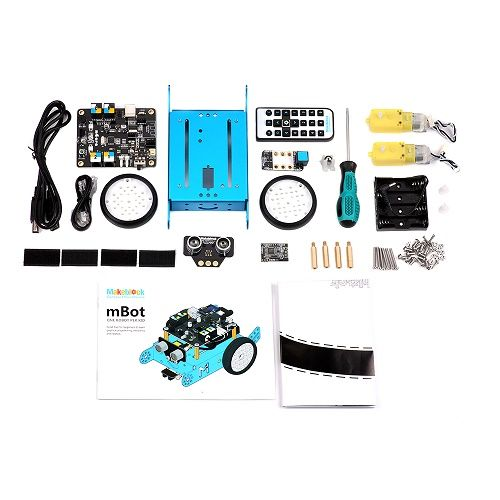 Figura 4: Il kit Robot con i suoi componenti