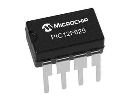 Figura 3: il controllore PIC12F629 della Microchip