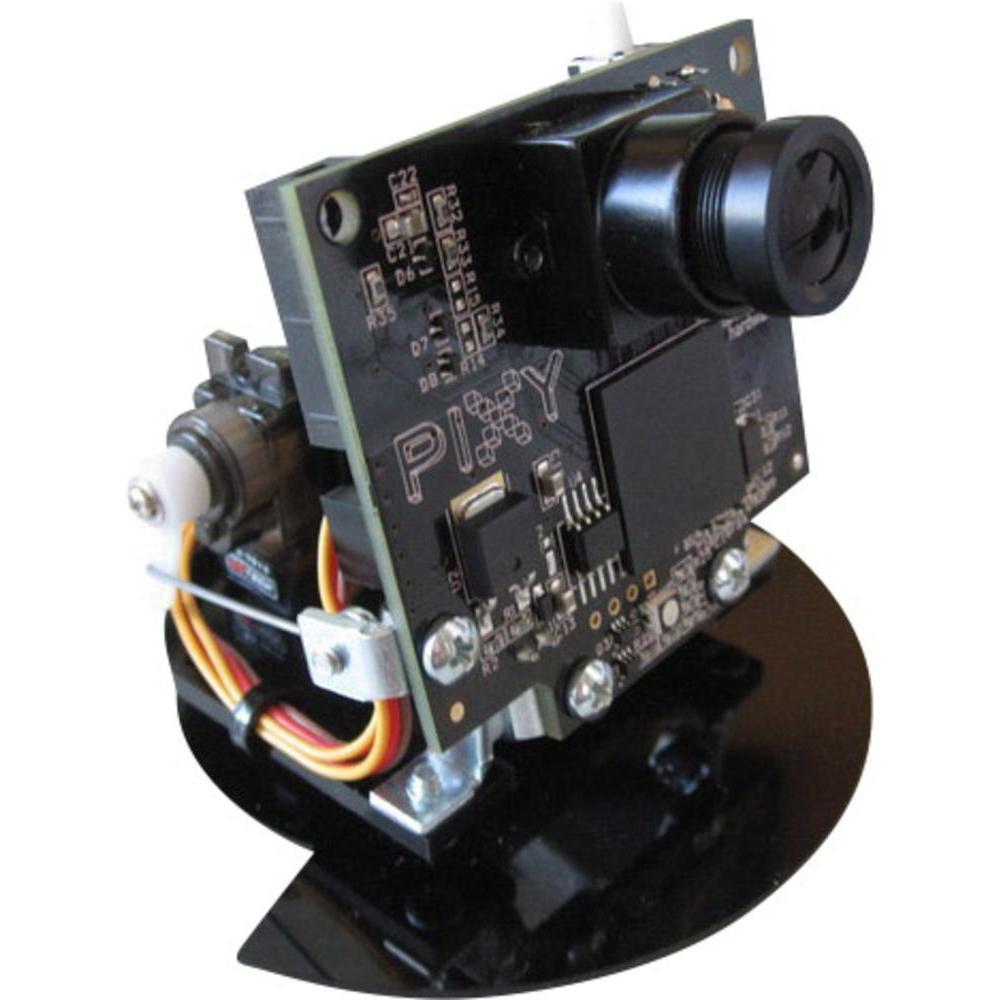 Figura 4: Sensore Pixy cam con il suo supporto