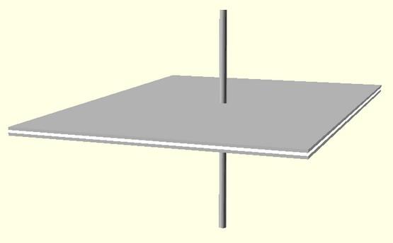 Figura 5: Un condensatore di esempio.