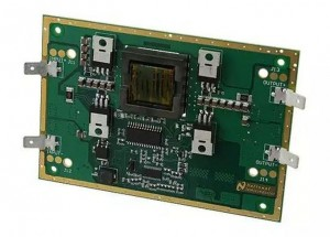 Evaluation board per l'SM72295 di TI