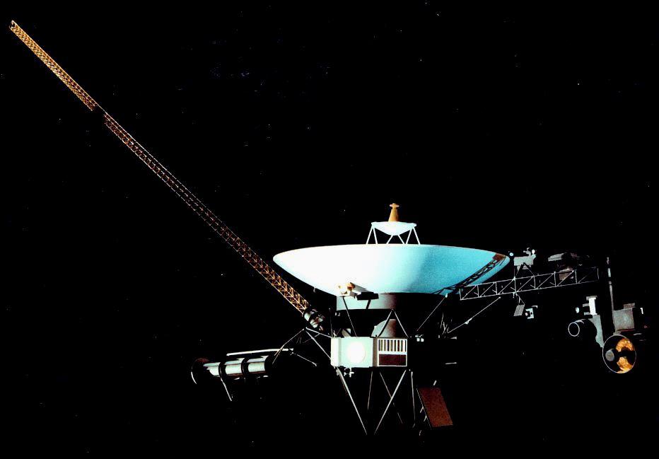 Figura 2: la sonda Voyager 1
