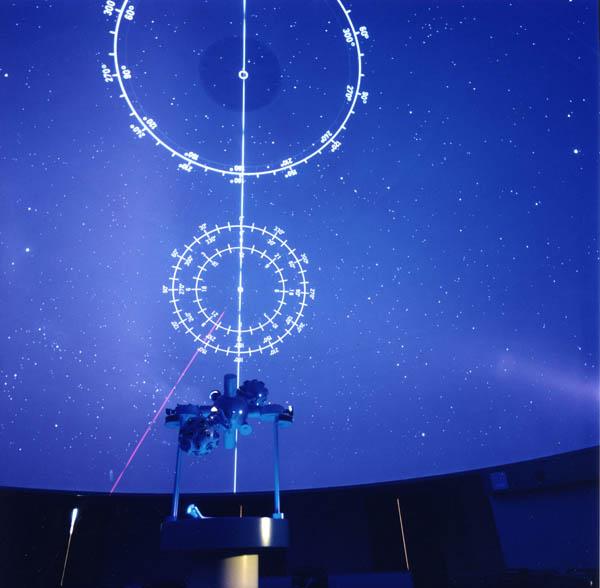 Figura 6: Planetario del Museo FirST. Cortesia Fondazione Scienza e Tecnica