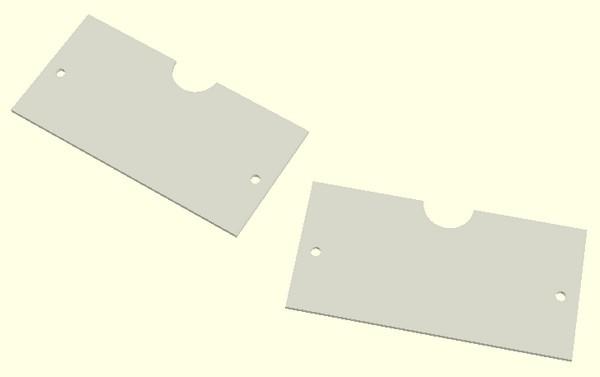 Figura 7: Come si ottengono le due parti dello statore dal quadrato.