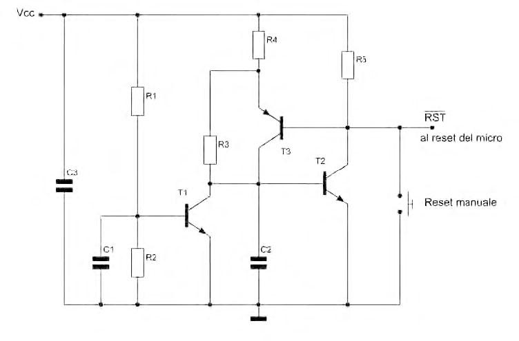 Figura 1. Brown-out detector a basso consumo